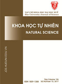 Hue University Journal of Science: Natural Science